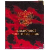 Обложка для пенсионного удостоверения ПВХ глянцевая Cd-PU-1_793